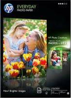 Hartie foto ink jet lucioasa, 100 x 150 mm, 200g/mp, 100 coli/set, HP Everyday Glossy