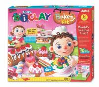 Plastilina AMOS iClay 6 bucati/set model Bakery Kit