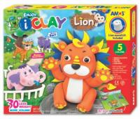 Plastilina AMOS iClay 5 bucati/set model Lion