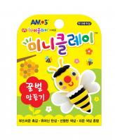 Plastilina AMOS iClay 30g mini clay model Albina