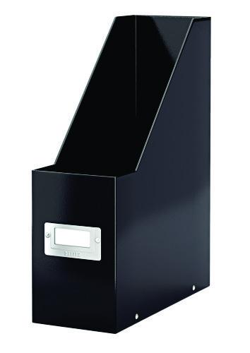 Suport Vertical Pentru Cataloage  Leitz Click and Store  Carton Laminat - Negru