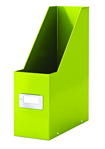 Suport Vertical Pentru Cataloage  Leitz Click and Store  Carton Laminat - Verde
