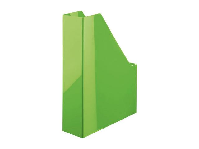 Suport Vertical Plastic Pentru Cataloage Han Iline - Verde Lucios