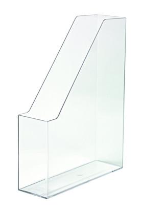 Suport Vertical Plastic Pentru Cataloage Han Iline - Transparent Cristal