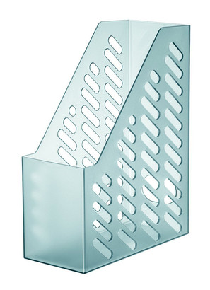 Suport Vertical Plastic Pentru Cataloage Han Brillant Xxl - Transparent Gri