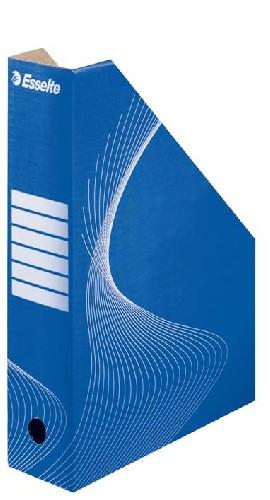 Suport Vertical Pentru Cataloage  Din Carton Albastru  Esselte