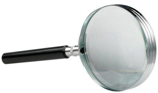 Lupa D75mm  Lentila Sticla  3x  Alco