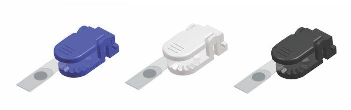 Clips Plastic Pentru Ecuson  10 Buc/set  Kejea - Alb