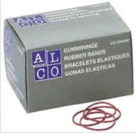 Elastice Pentru Bani  250g/cutie  D 85 X 1 5mm  Alco
