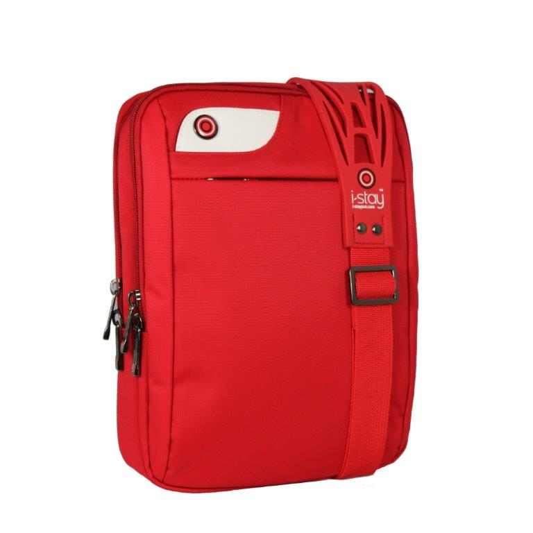 Geanta Laptop/i-pad 10.1  Polyester  I-stay - Rosu