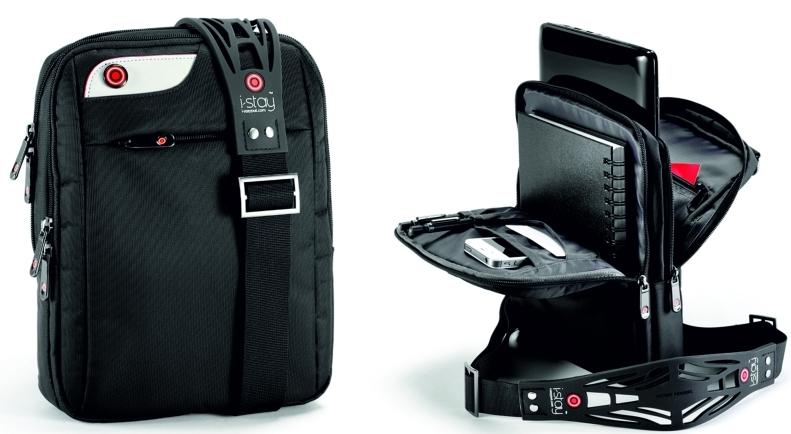 Geanta Laptop/i-pad 10.1  Polyester  I-stay - Negru