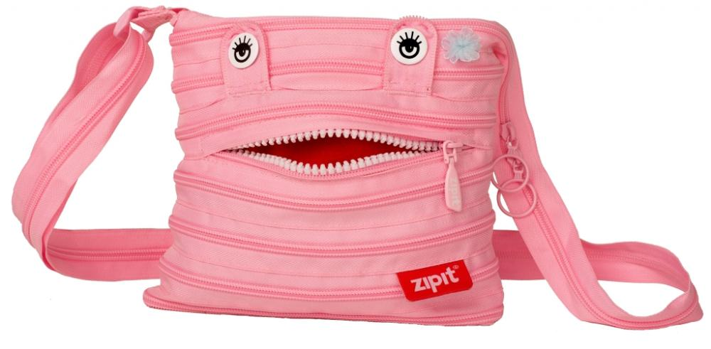 Geanta De Umar Zip..it Monsters Mini - Roz Deschis