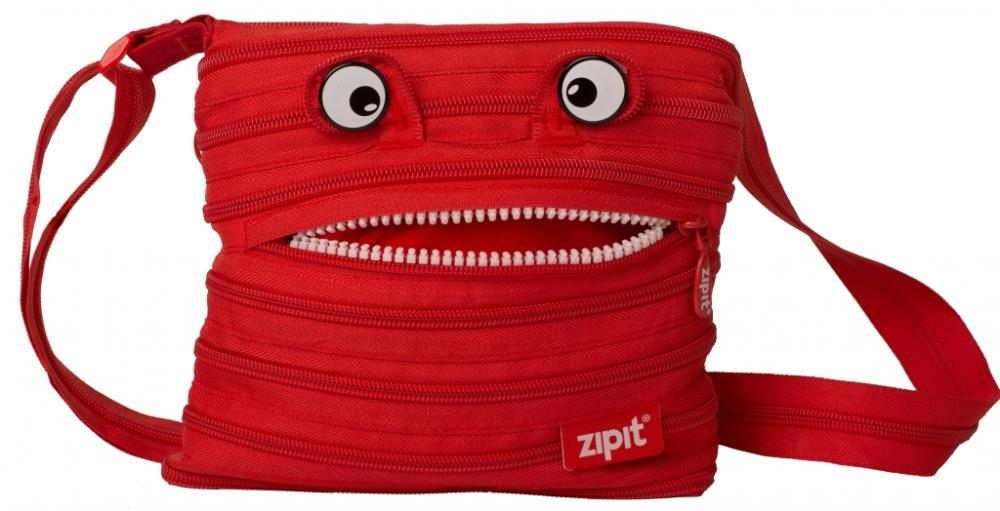 Geanta De Umar Zip..it Monsters Mini - Rosu Aprins