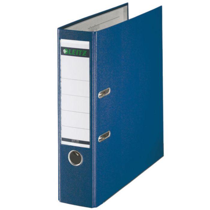 Biblioraft A4  Plastifiat Pp/paper  Margine Metalica 80 Mm  Leitz 180 - Albastru