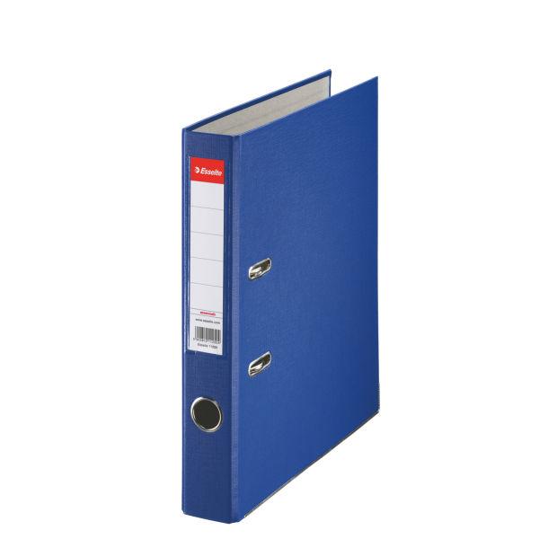 Biblioraft A4  Plastifiat Pp  Margine Metalica  50 Mm  Esselte Economy - Albastru