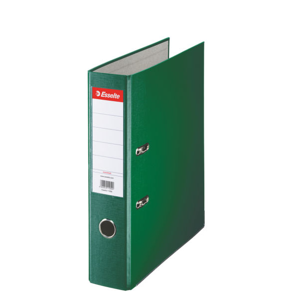 Biblioraft A4  Plastifiat Pp  Margine Metalica  75 Mm  Esselte Economy - Verde