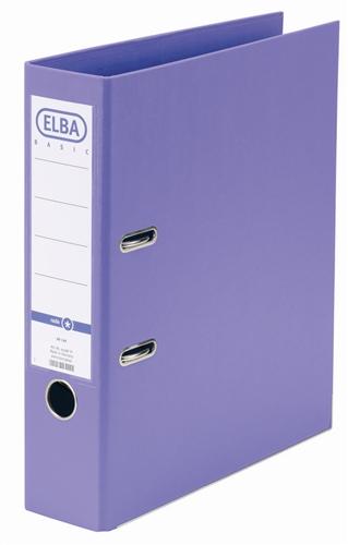 Biblioraft A4  Plastifiat Pp/pp  Margine Metalica  80 Mm  Elba Smart Pro+ - Violet