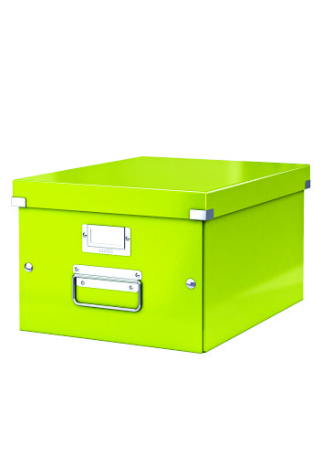 Cutie Arhivare 281 X 200 X 369 Mm  Leitz Click and Store  Carton Laminat - Verde