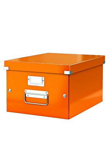 Cutie Arhivare 281 X 200 X 369 Mm  Leitz Click and Store  Carton Laminat - Portocaliu