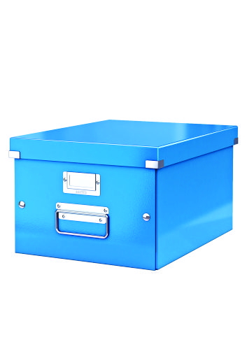 Cutie Arhivare 281 X 200 X 369 Mm  Leitz Click and Store  Carton Laminat - Albastru