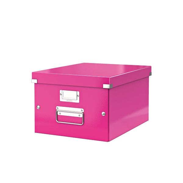 Cutie Arhivare 281 X 200 X 369 Mm  Leitz Click and Store  Carton Laminat - Roz