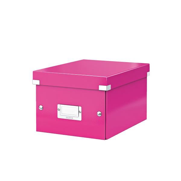 Cutie Arhivare 216 X 160 X 282 Mm  Leitz Click and Store  Carton Laminat - Roz
