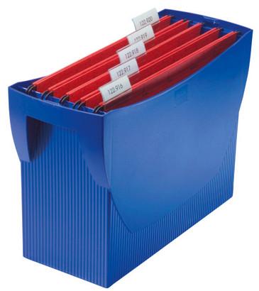 Suport Plastic Pentru 20 Dosare Suspendabile  Han Swing - Albastru