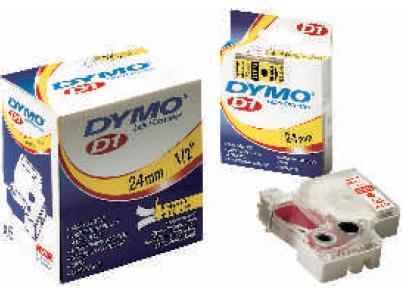 Banda Dymo D1 (19 Mm X 7 M ) Text:negru / Fond:alb