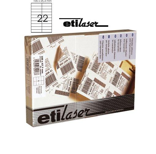 Etichete Autoadezive 22/a4  105 X 25 4 Mm  200 Coli/top  Etilaser - Albe