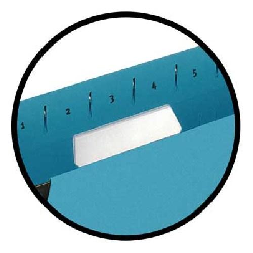 Etichete Albe Pe Format A4  Microperforate  Pentru Dosare Suspendate  10coli/set  Elba