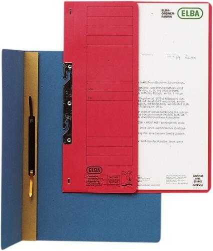 Dosar Carton Incopciat 1/2 Elba - Rosu