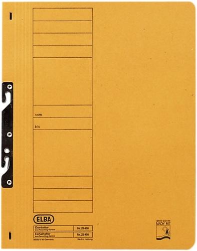 Dosar Carton Incopciat 1/1 Elba - Orange