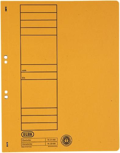 Dosar Carton Cu Capse 1/1 Elba - Orange