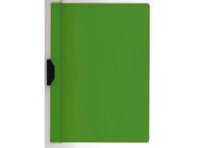 Dosar Din Plastic Cu Clema Metalica Kangaro - Verde