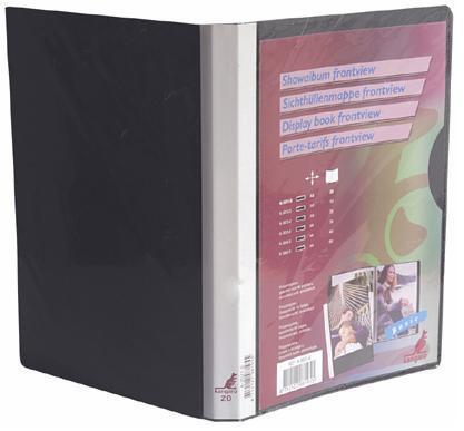 Dosar De Prezentare Cu 10 Folii  A4  Coperta Rigida  Kangaro - Bleumarin