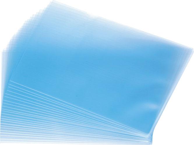 Mapa Protectie L Pentru Documente A4  Pvc - 180 Microni  Kangaro - Cristal