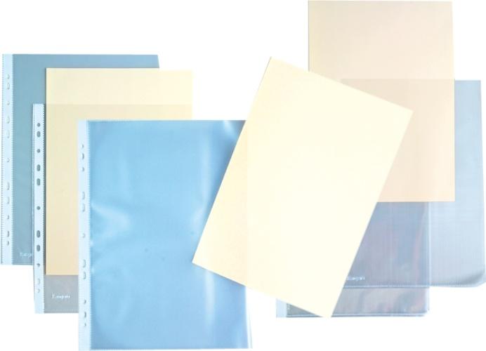 Folie Protectie L Pentru Documente A4  140 Microni  Kangaro - Cristal