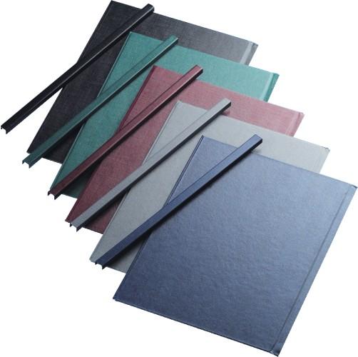 Sina Metalica Structura Panzata  A4  15-35 Pag.( 5 Mm) 10 Buc/set  Metal -bind Opus - Albastru