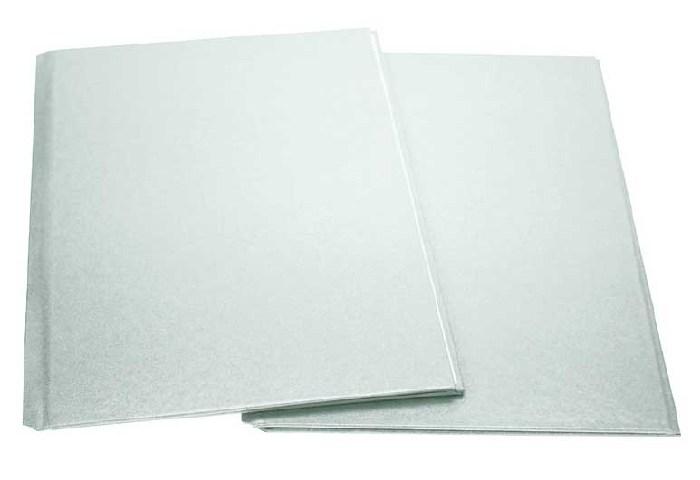 Coperti Rigide A4  20 Buc./set  Metal-bind Opus - Argintiu