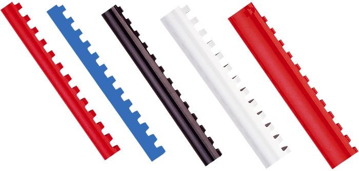 Inele Plastic 8 Mm  Max 45 Coli  100buc/cut  Opus - Negru
