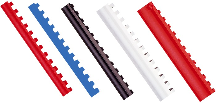 Inele Plastic 6 Mm  Max 25 Coli 100buc/cut  Opus - Albastru