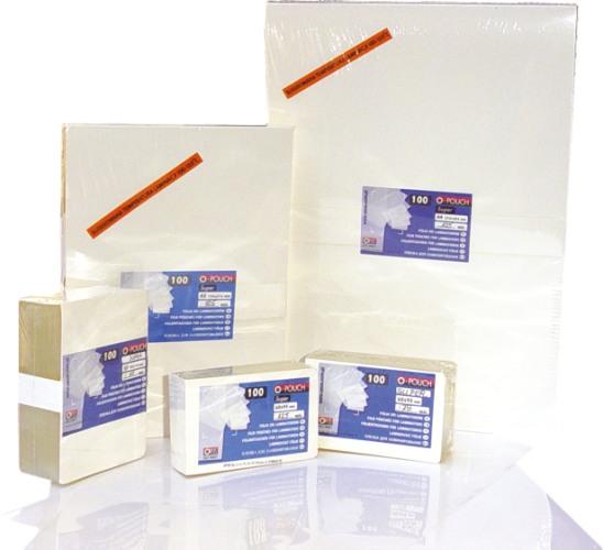 Folie Pentru Laminare 54 X 86 Mm  125 Microni 100buc/top Opus