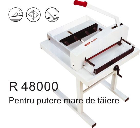 Ghilotina Cu Parghie Hsm R48000 - 480 Mm - 600 Coli