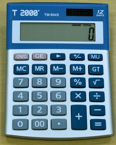 Image result for calculator 12 digit t2000 tm 6045