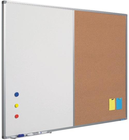 Tabla Combi (whiteboard / Pluta) 90 X 120 Cm  Profil Aluminiu Sl  Smit