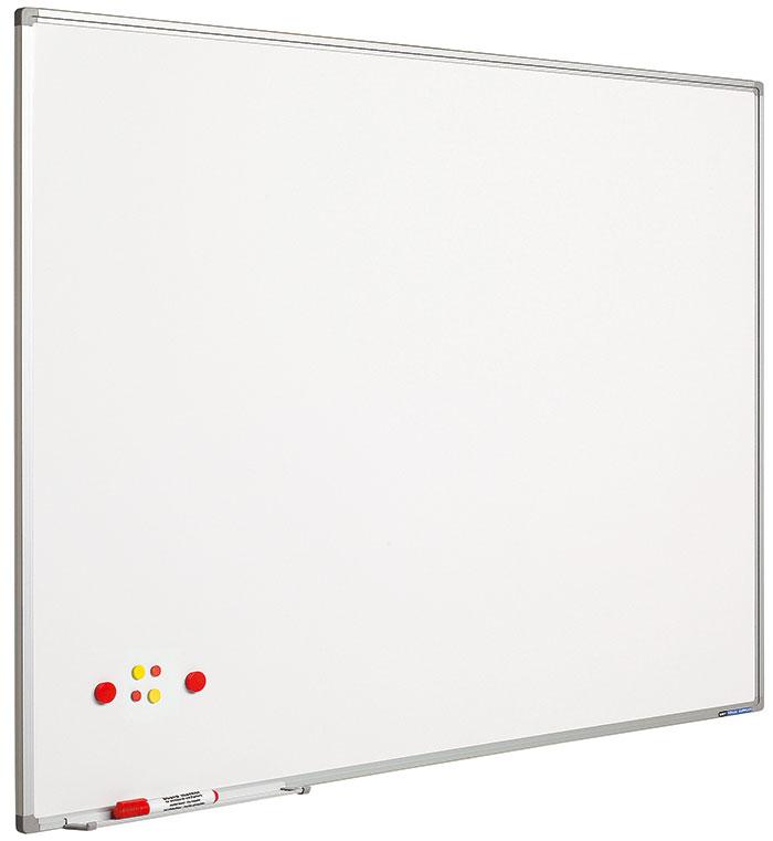 Tabla Alba Magnetica 90 X 120 Cm  Profil Aluminiu Sl  Smit