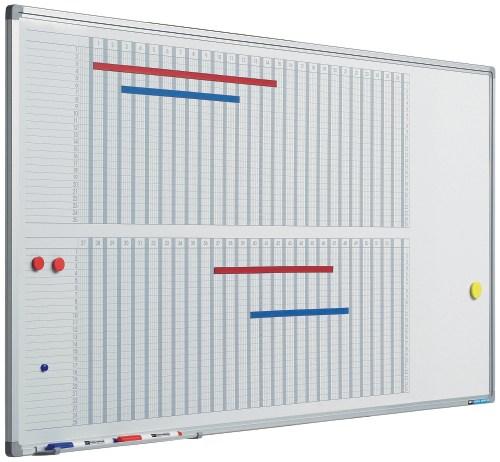 Planner Pentru 53 De Saptamani  60 X 120 Cm  Profil Aluminiu Sl  Smit