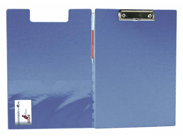 Clipboard Dublu  Plastifiat Pvc  Kangaro - Bleumarin