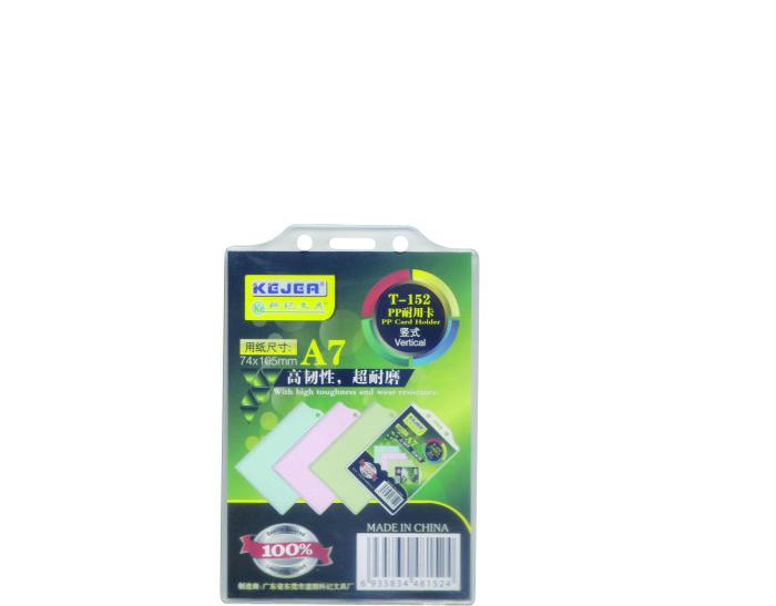 Suport Pp  Pentru Carduri  74 X 105mm  Vertical Cu Sistem De Agatare  10 Buc/set  Kejea - Transp.
