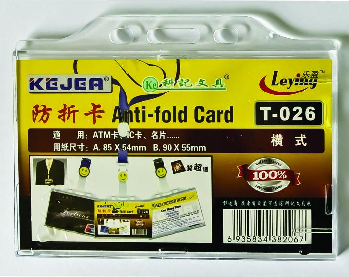 Suport Pp  Pentru Carduri  85 X 54mm  Orizontal Cu Sistem Anti-alunecare  5 Buc/set  Kejea - Transp.
